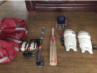 Youths cricket gear