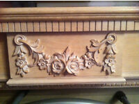 Beautiful Wooden Fire Surround / Mantle