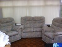 2 seater Gplan sofa and 2 armchairs
