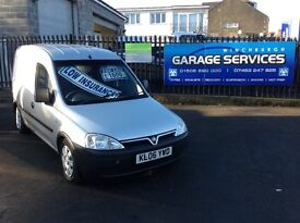 2006 VAUXHALL COMBO EXCELLENT CONDITION FULL YEARS MOT FULLY SERVICED NO VAT SILVER MUST BE SEEN!!!!