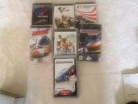 PSP PLAYSTATION Very good condition. PORTABLE Boxed with 7 games.