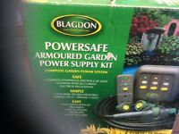 Powersafe garden supply kit never been used