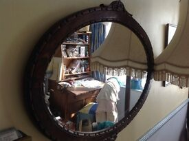 Georgean Oval mirror