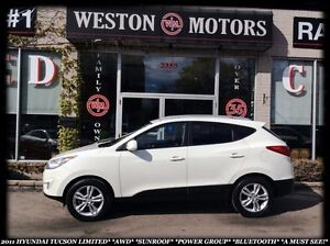 2011 Hyundai Tucson GLS*LIMITED*AWD*SUNROOF*POWER GROUP*BLUETOOT