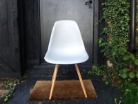2x Grey Eames style chairs for sale