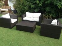 Oceans quality rattan garden patio or conservatory furniture £275 tel 07966921804