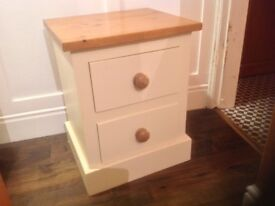 Pine painted cabinet