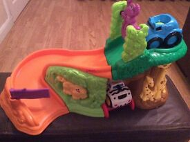 Fisher-Price Roll 'n Racers Safari Sounds Jungle Suitable For Ages 6m+