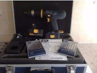 B&Q Pro Cordless Drill.