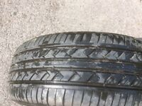 Ford escort road steel wheel and good tyre 1997 model