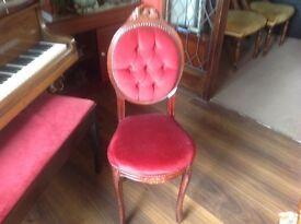 occasional boudoir chair