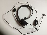 Xbox 360 headset with mic