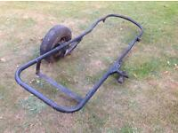 Side car chassis - possibly Watsonian Squire or Monaco - for restoration