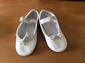 Ballet shoes UK Infant size 6 (euro 23)