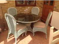 Conservatory table and sofa