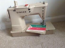 Singer sewing machine model 411