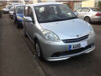 Cheap 2010 reg. automatic Perodua Myvi 1.3 litr petrol £1100