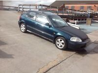 Superb example full service history Honda Civic ek4 VTI D.O.H.C.
