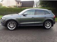 Audi Q5 2.0L S-Line Quattro 4x4 2010 (60) Full Leather