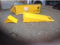 Pair of campervan levelling ramps