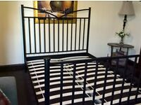 Superior quality iron double bed (Free delivery see description)