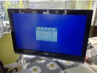 "Toshiba 37"" HD TV 1080p complete with stand, option of wall mount, excellent condition"