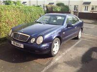MERCEDES CLK 230 ELEGANCE KOMP AUTO an elegant classic car in excellent condition MOT Till 28/02/18