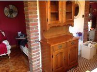 Kitchen or dining room dresser display cabinet