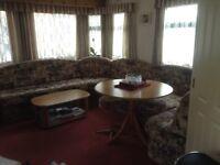 Willerby Westmorland 28'x12' static caravan, good condition. Two bedroom, six berth, shower room.