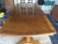 8 seater extendable dining table