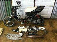 Aerox,70cc,project,tuned,moped