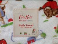 Cath Kidston Cowboy Bath Towel