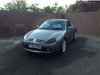 Mgtf 2002 135bhp met grey,genuine 57000 miles,lovely original condition