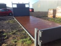 2.4x6.8 meter Flatbed body + Tail gate
