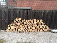 Logs fire wood log burner St. Helens collect or deliver