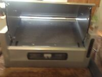 APP 2200 60CM Integrated Cooker Hood Extractor Fan & Charcoal filter UNUSED