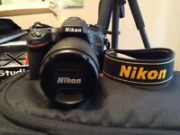 Nikon d7100 camera and kit for sale