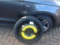 AUDI A1 SPACE SAVING SPARE WHEEL