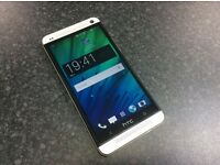 Htc one M7 all networks, unlocked, good condition, EE, O2, vodaphone, silver colour