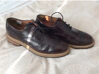 TopMan, Leather Brogues, Size 11, As New.