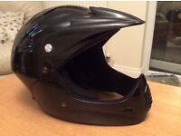 Black boys cycling helmet