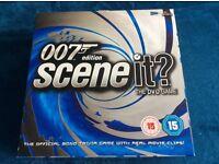 Scene it 007 edition DVD Board Game