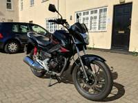 Honda CB125F (one owner, low mileage)