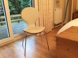 2 dining chairs hardly used. Free to good home