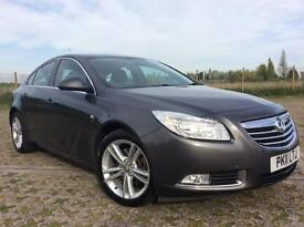 2011, AUTOMATIC VAUXHALL INSIGNIA 2.0 DIESEL HATCHBACK, FULL VAUXHALL SERVICE HISTORY.