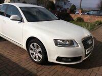 Audi A6 automatic in White low mileage