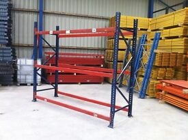 MECALUX HEAVY DUTY INDUSTRIAL COMMERCIAL WAREHOUSE LONGSPAN PALLET RACKING UNIT