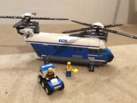Lego helicopter 4439