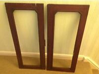 Antique Mahogany Doors