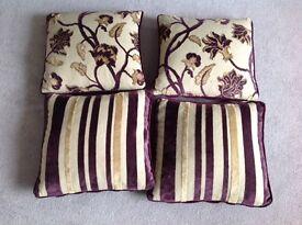 Crushed Velvet Scatter Cushions